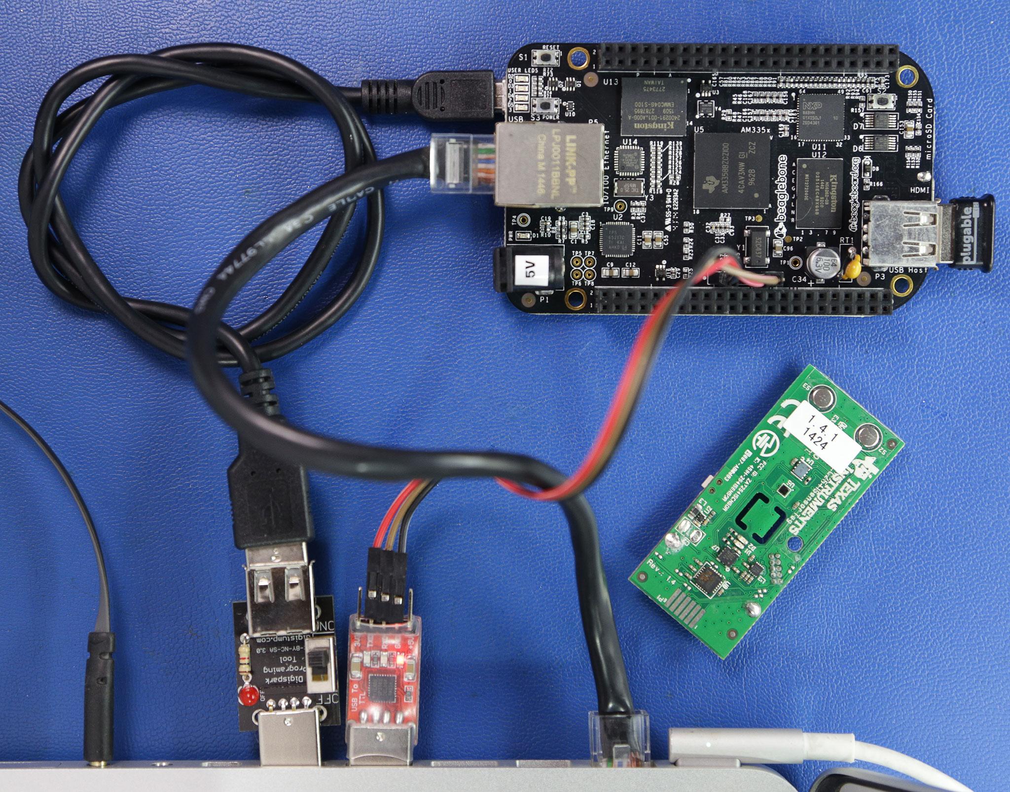 Ship IoT with Beaglebone Black, TI Sensortags, and